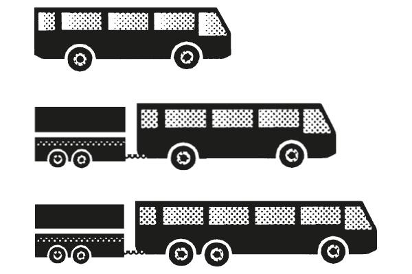 Führerschein Klassen D1, D1E, DE