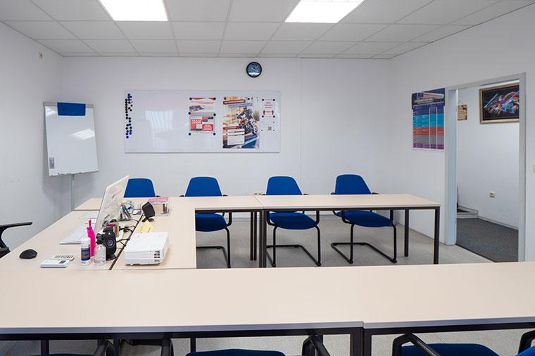 Unterrichtsraum der Fahrschule Gmeinwieser